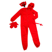 1940s vintage Red Devil Childs Halloween Costume in original Party Costumes Box