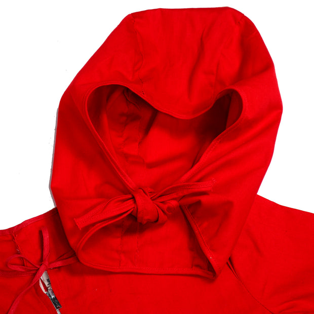 1940s vintage Red Devil Childs Halloween Costume hood and mask
