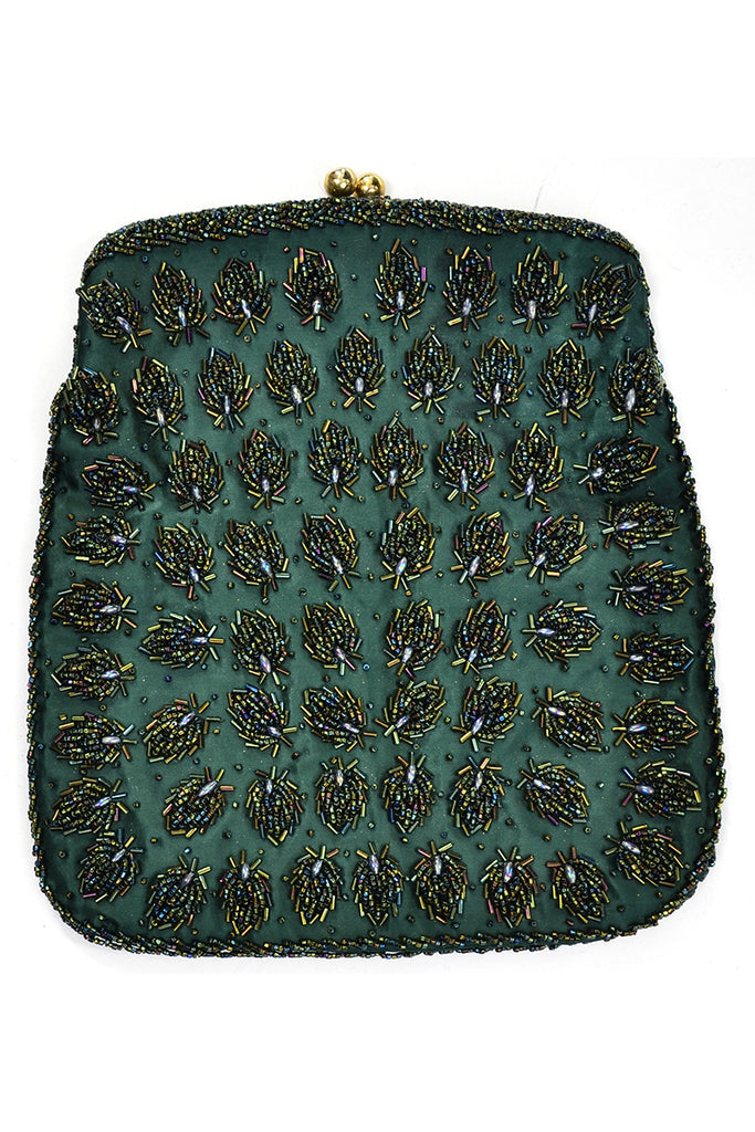 1960s Hong Kong Vintage Evening Bag Clutch Purse