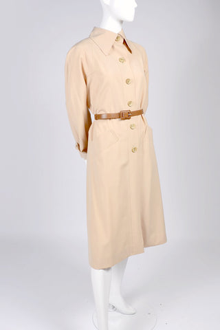 1970's Belted Trench Coat | Dressing Vintage