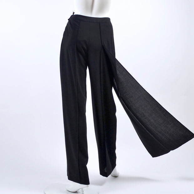 Attached panel vintage Chanel pants