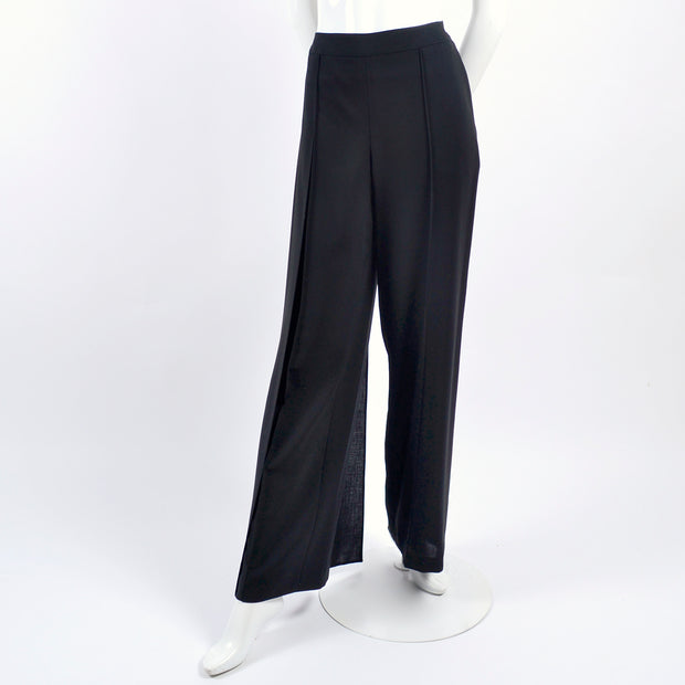 Chanel black pants size 10