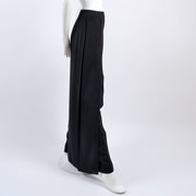 SS 1999 vintage Chanel black wool pants