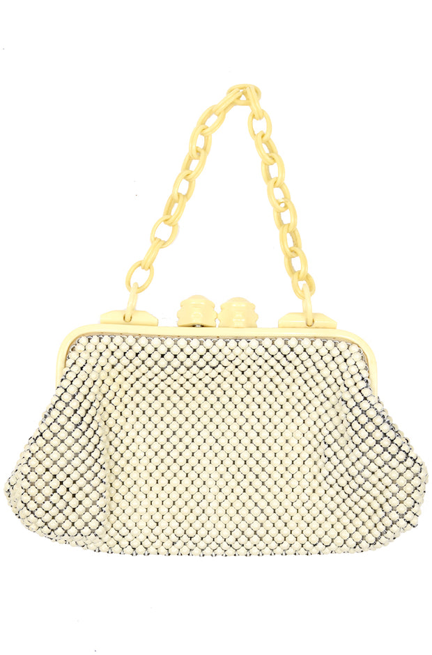 1940s Whiting & Davis Mesh Handbag