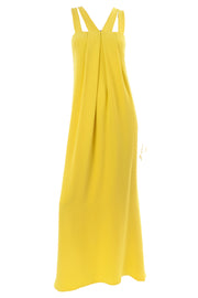 Resort 2008 Oscar de la Renta Chartreuse Yellow Dress