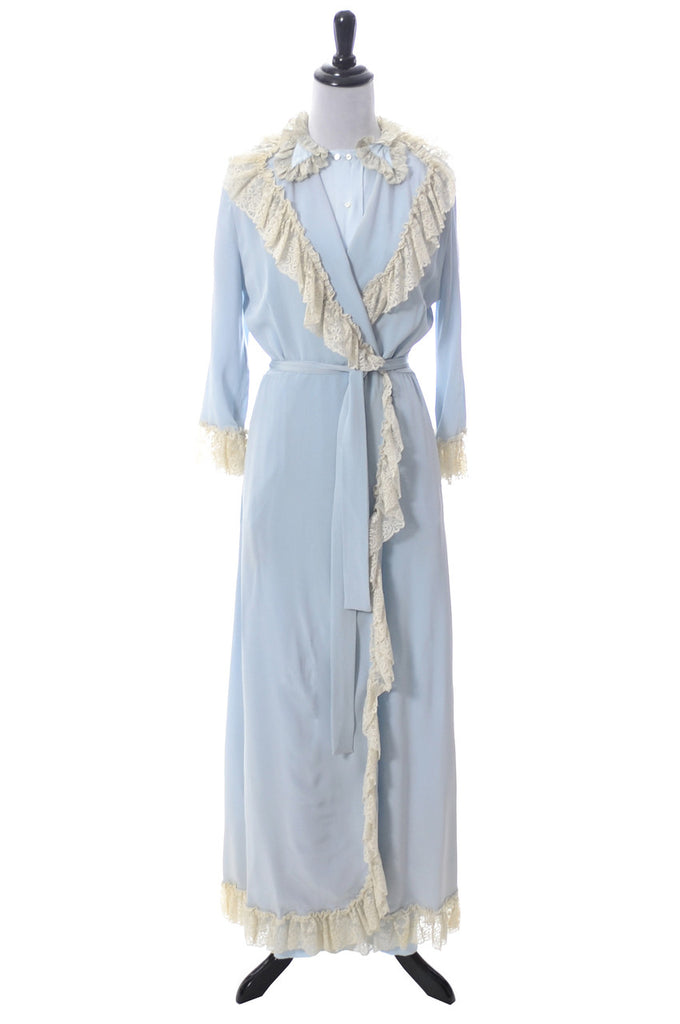 Iris Lingerie vintage peignoir robe nightgown