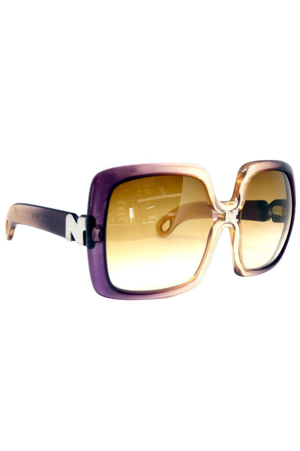 1970's Nina Ricci Ombre Purple Sunglasses