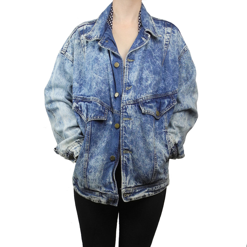 a.b.s. California acid wash jacket