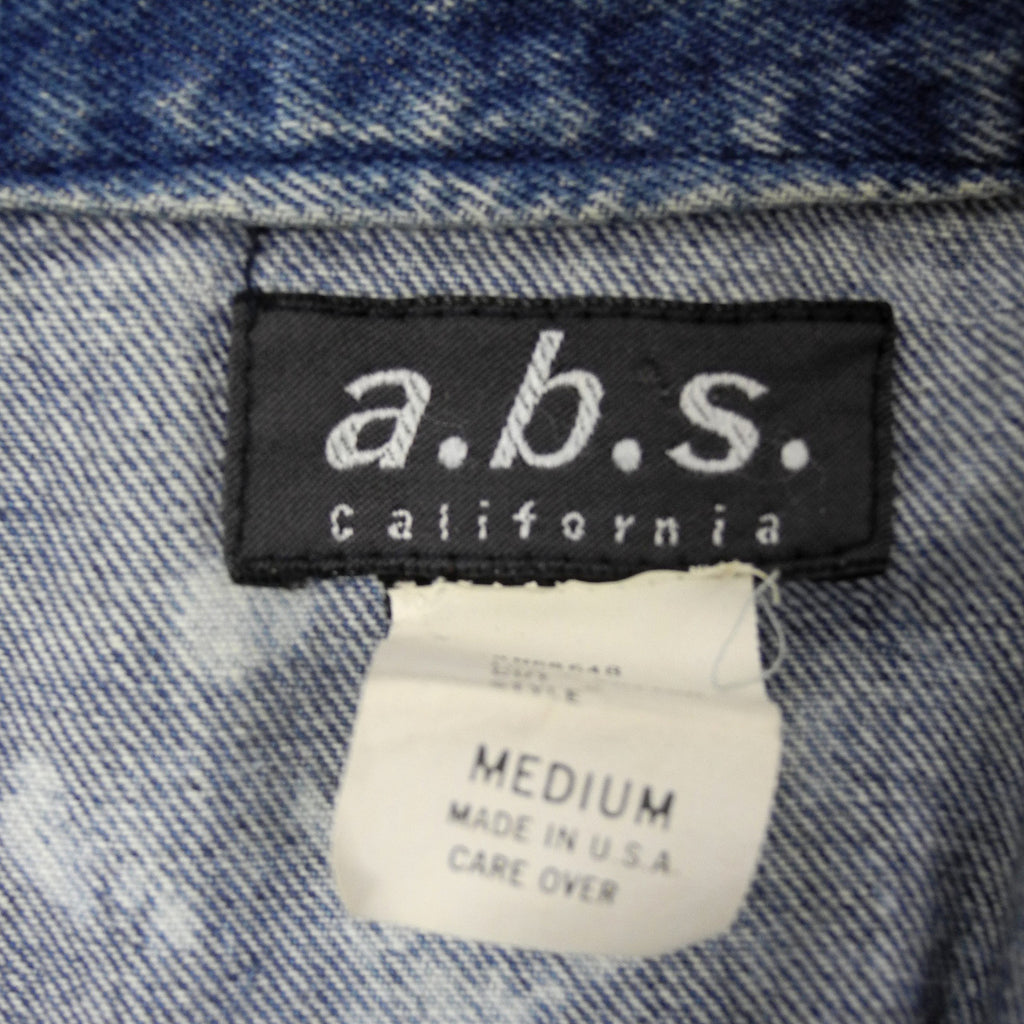 a.b.s. California jean jacket