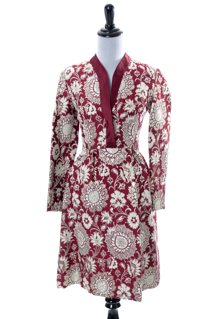 1960s vintage dress Adele Simpson