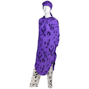 Purple Adolfo Vintage Caftan and Pants