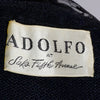 1970's Adolfo label from Saks Fifth Avenue