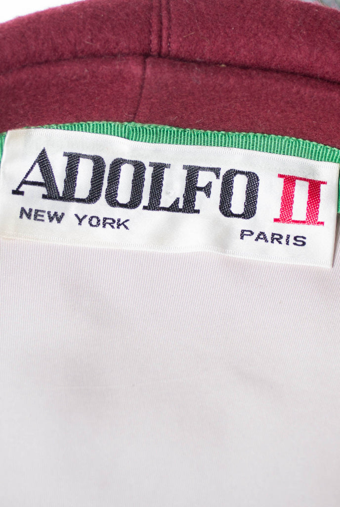 Adolfo II New York Paris Vintage Hat