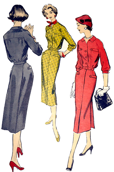 1950s Advance 8214 Vintage Dress pattern