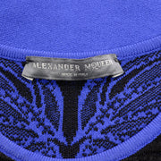Alexander McQueen label on contemporary dress