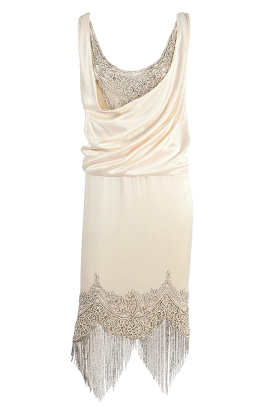Silk Alexander McQueen Flapper Inspired Dress 2007