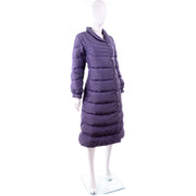 Bill Blass 1980s Purple Vintage Puffer Coat