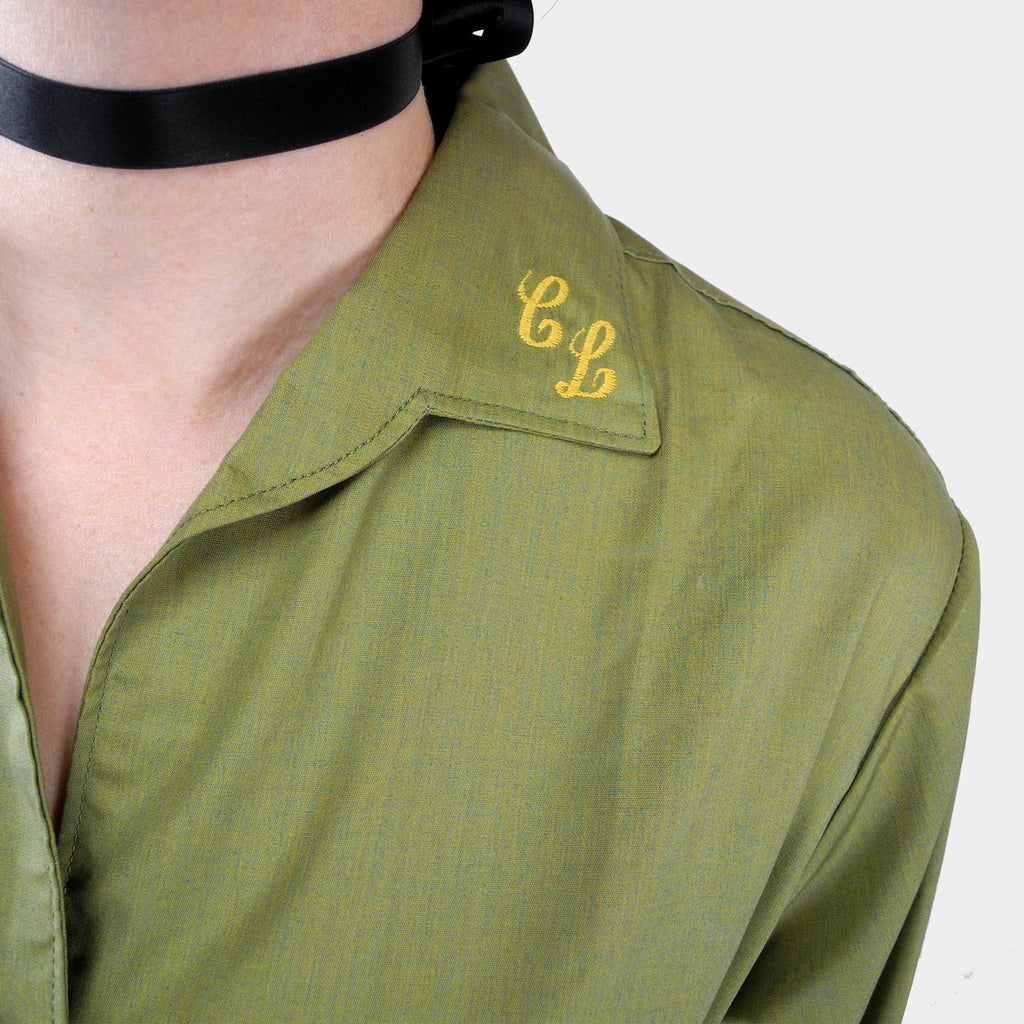 Monogrammed 1950's Blouse