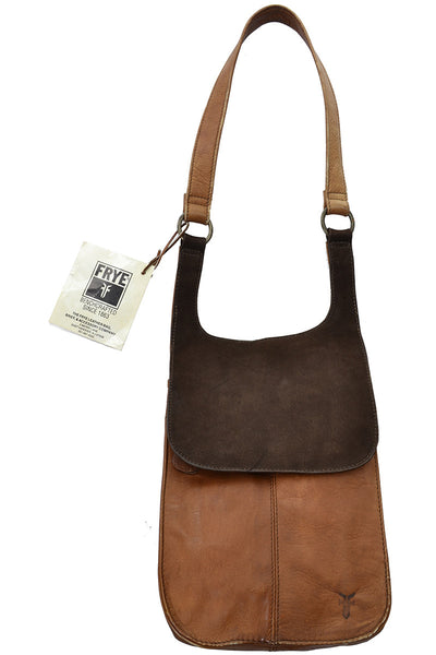 Frye Brown Leather New Vintage Bag Handbag