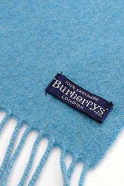 1980's or 1990s Burberrys London Scarf label
