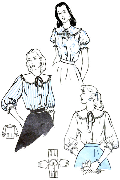 Butterick 4441 Vintage Sewing Pattern 1948