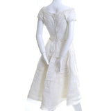 Organza Rare William Cahill Vintage Wedding Dress