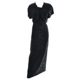 Beaded Carmen Marc Valvo Vintage Dress 1990s