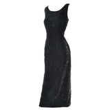 Size 14 Carmen Marc Valvo Vintage Dress 1990s
