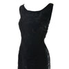 Embroidered Carmen Marc Valvo Vintage Dress 1990s