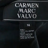 Carmen Marc Valvo Vintage Dress 1990s 14