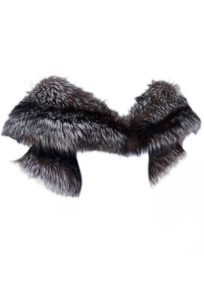 Carolina Herrera Silver Fox Fur Stole