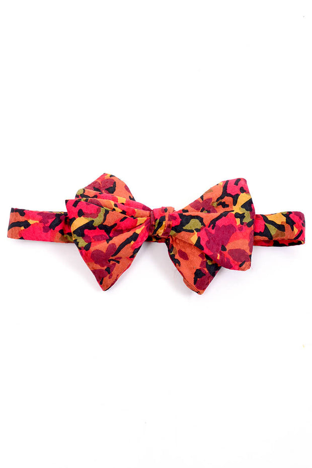 1980s vintage bow tie and matching cummerbund set Carrot & Gibbs