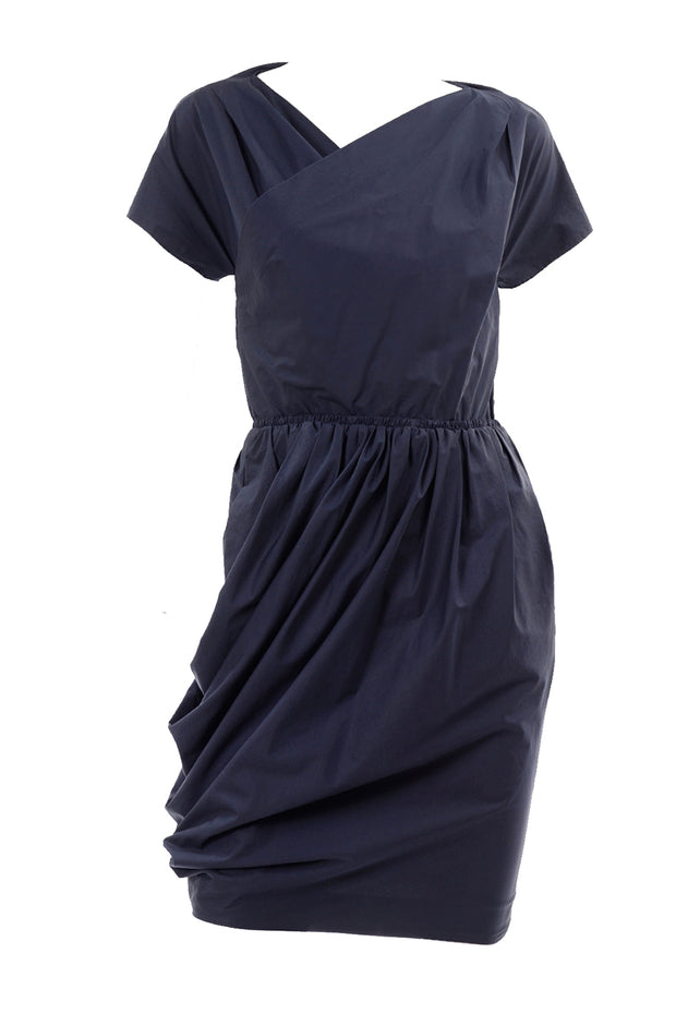 Carven dress with rouched waistline