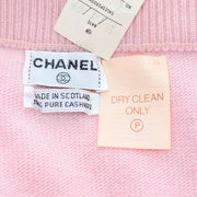 Deadstock cashmere Chanel pink skirt