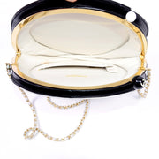 Authentic Chanel round circle handbag
