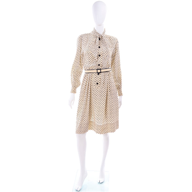 1970s Vintage Chanel Tulip Dress