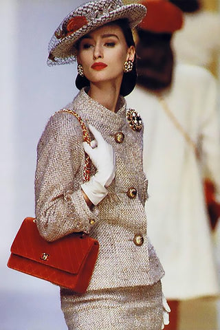 1988 Chanel Runway Suit