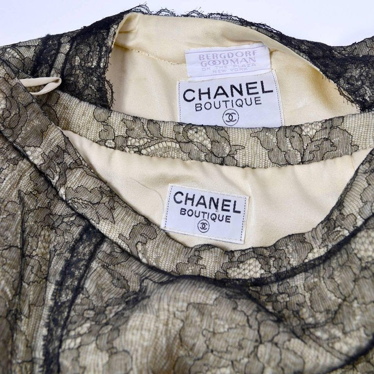 Chanel and Bergdorf Goodman Labels