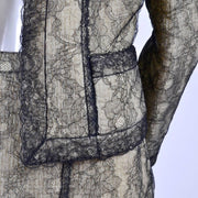 Chanel Lace Suit Details