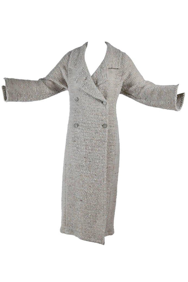 Vintage Chanel Tweed Long Coat