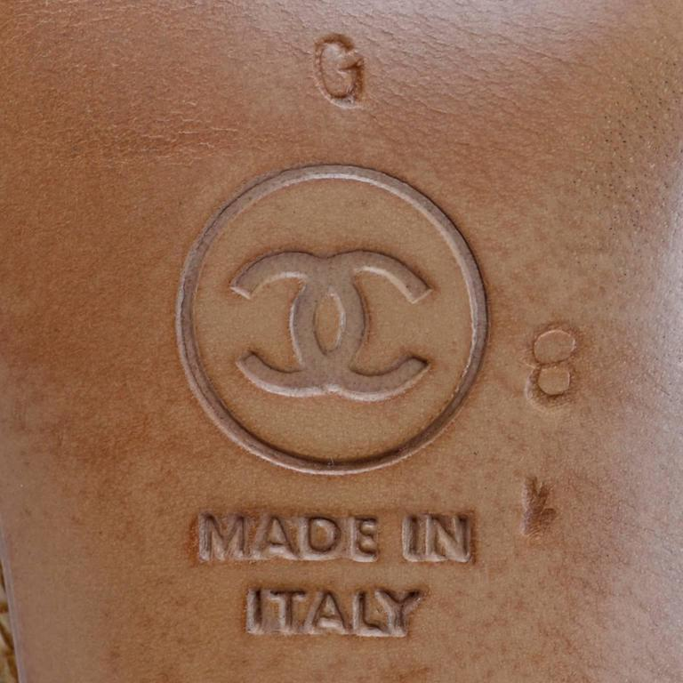 Chanel Logo on Bottom of Vintage Heels