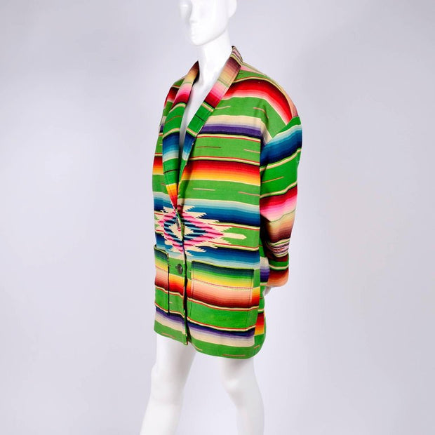 Southwestern pattern coat owned by Cher