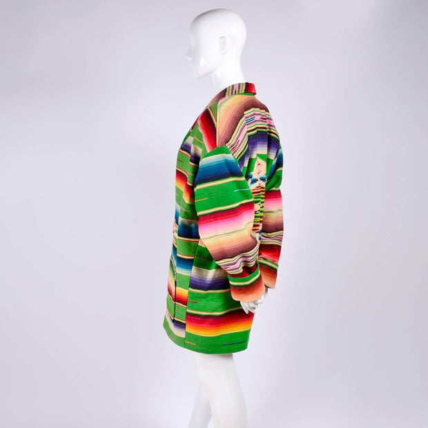 1980's 1990's oversized vintage southwest coat owned by Cher