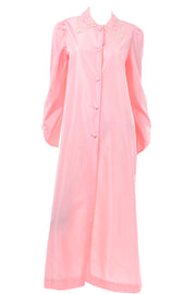 Vintage Chloe Pink Hostess Robe