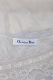 Vintage Silk Christian Dior Nightgown Lace New