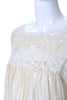 Vintage Silk Christian Dior Nightgown Lace
