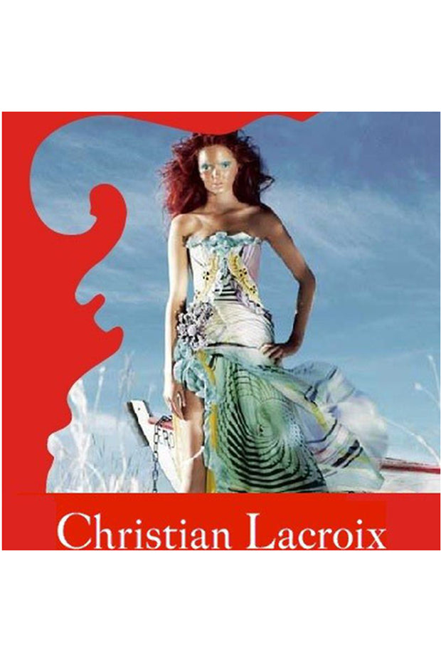 Christian Lacroix Runway Silk Chiffon dress