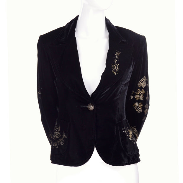 Christian Lacroix vintage black jacket