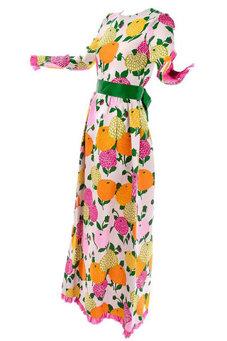 1980s Color Block Christian Lacroix Paris Vintage Dress Size 8/10