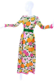 Christian Dior Couture 1960's Vintage floral dress